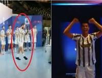 Cuadrado los contagió: los virales bailes de Cristiano e Higuaín con la 'Juve'