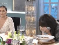 Video: Moria Casán se ahogó en vivo en el programa de Juanita Viale