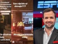 Franco Lostaunau y su dura crítica a Ray Sandoval por manejar ebrio
