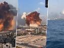 Los 10 videos más impactantes de la explosión en Beirut