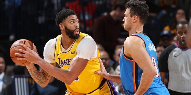 Qué canal transmite Oklahoma City Thunder vs. Los Angeles Lakers por la NBA | Bolavip