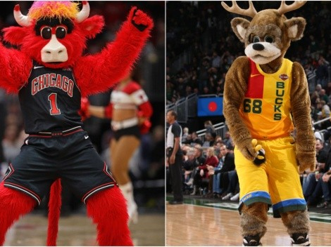 Top 10 funniest NBA mascots ever