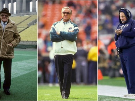 Top 15 NFL coaches with the most wins