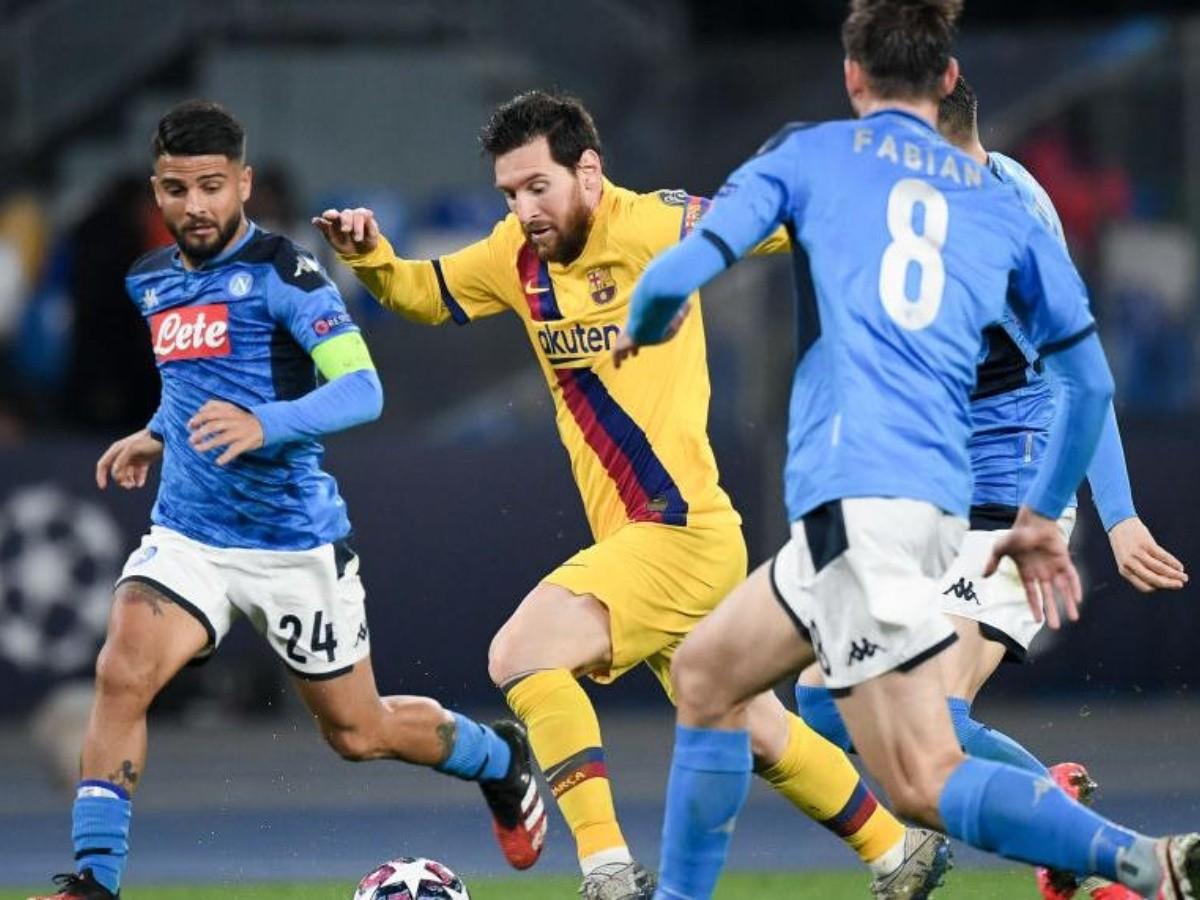Que Canal Transmite Barcelona Vs Napoli Por La Champions League Bolavip