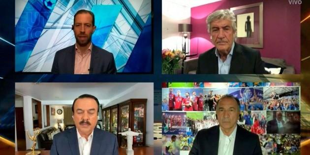 Héctor Huerta reapareció en 'Futbol Picante' tras escándalo por supuesto sexo en vivo | Bolavip