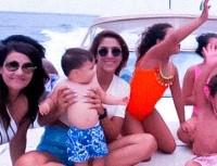 Hermosura total: primera foto de Daniela Ospina con Samuel, el hijo de James
