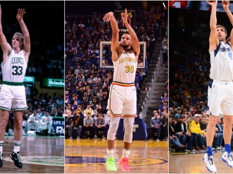 Top 15 best 3-point shooters in NBA history