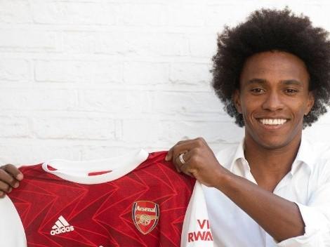 Arsenal, imparable: presentó a Willian de cara a la temporada 2020/2021