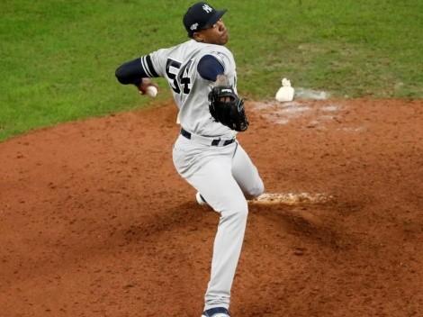 New York Yankees confirma la fecha para el regreso de Aroldis Chapman