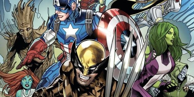 de Marvel Guardianes Fortnite Avengers la  X-Men Galaxia