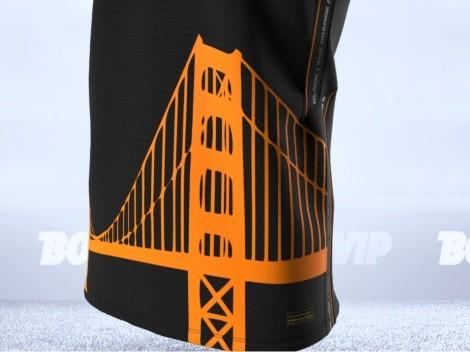 San Francisco Giants rock this MLB soccer jersey