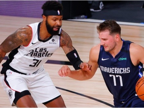 Marcus Morris mocks Luka Doncic after dirty fouls and playoff exit