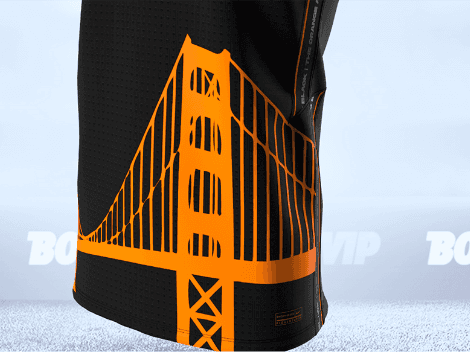 Edición de colección: el jersey modo fútbol de los San Francisco Giants