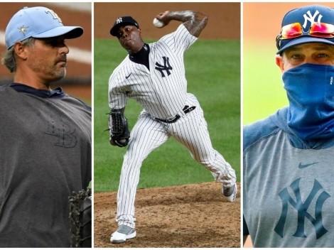 Caso Aroldis Chapman: manager de Tampa Bay Rays amenaza con venganza y New York Yankees responden