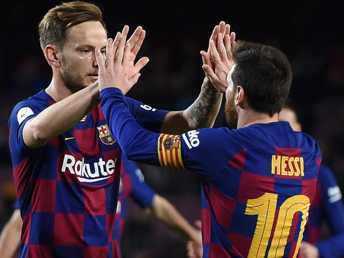 Ivan Rakitic sends a message to Lionel Messi as he leaves Barcelona |  Bolavip US