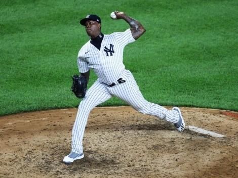 Aroldis Chapman es suspendido por la MLB