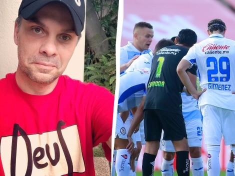 Christian Martinoli narrará por penúltima vez un partido de Cruz Azul en el Guard1anes 2020