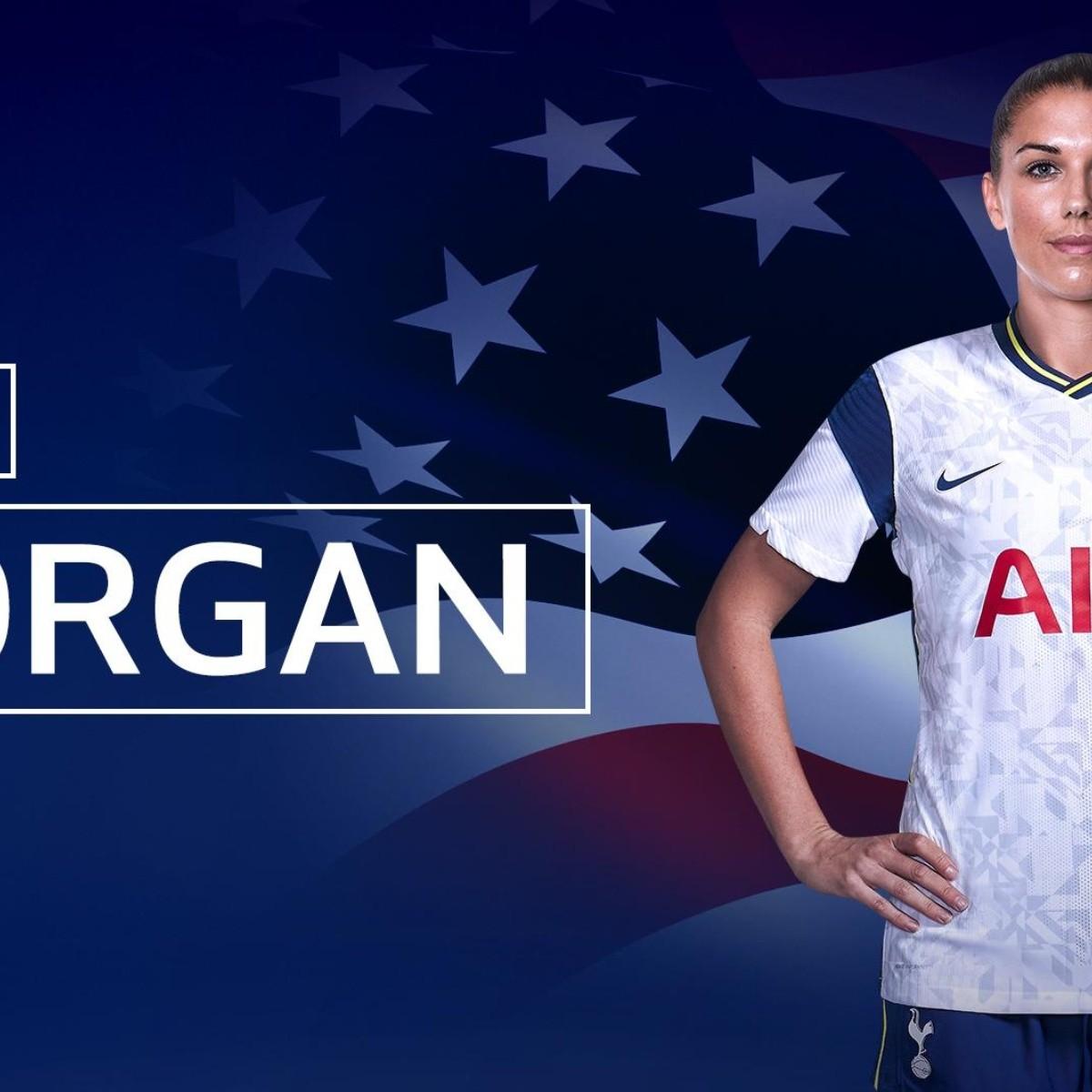 Alex Morgan Firma Con Tottenham Hotspur De La Premier League Bolavip