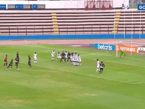 Nuestro Pirlo: Alfredo Ramúa metió golazo de tiro libre con el Cusco FC