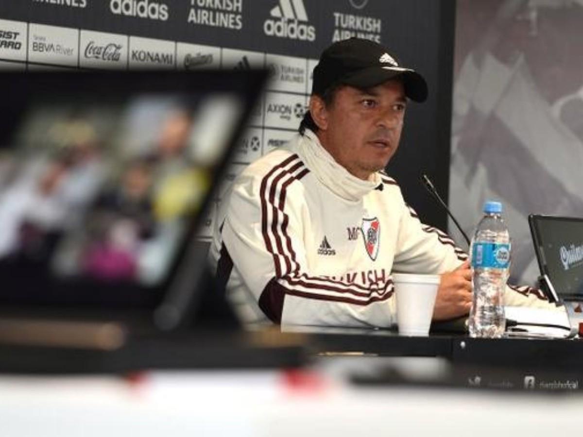 River Marcelo Gallardo dijo que no hubieron ofertas por Martínez Quarta    Bolavip
