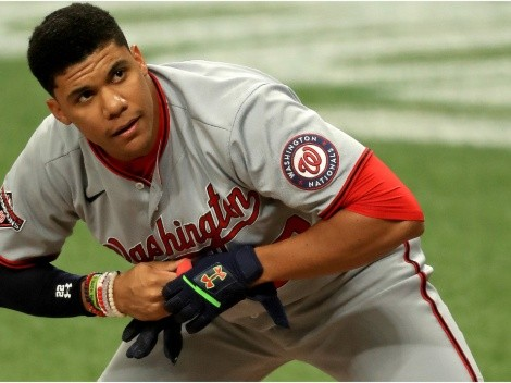 Numbers show Juan Soto is already ahead of Mike Trout and Bryce Harper