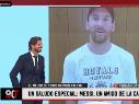 90 Minutos se mudó a ESPN y arrancó con un saludo de Messi para Vignolo
