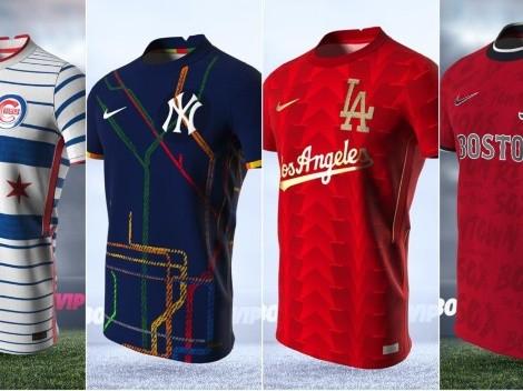 De geniales a increíbles: el ranking de las jerseys de MLB en edición fútbol
