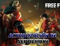 Fecha y Hora para la actualización de septiembre de Free Fire