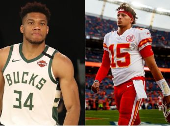Giannis y Mahomes, entre los destacados del 2020 | Foto: Getty Images