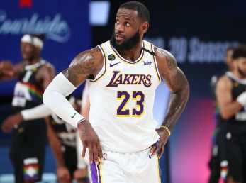 LeBron James, Los Angeles Lakers (Getty)