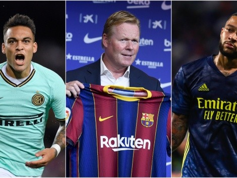 Barcelona refuse to rule out Lautaro Martinez and Memphis Depay moves