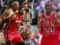 Paul Pierce, LeBron James and Michael Jordan