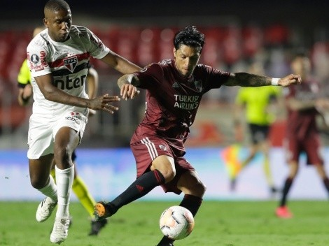 River and Sao Paulo play thrilling Copa Libertadores game tonight