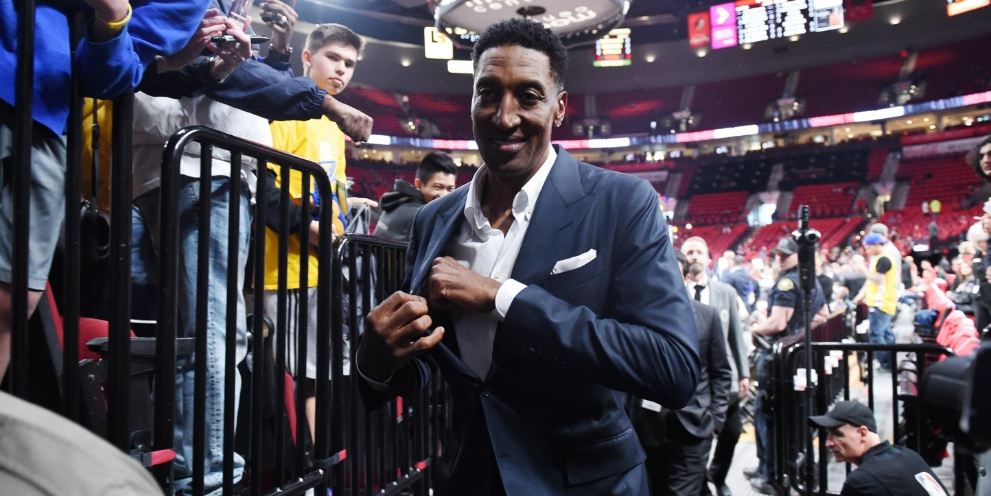 Scottie Pippen, leyenda de Chicago Bulls