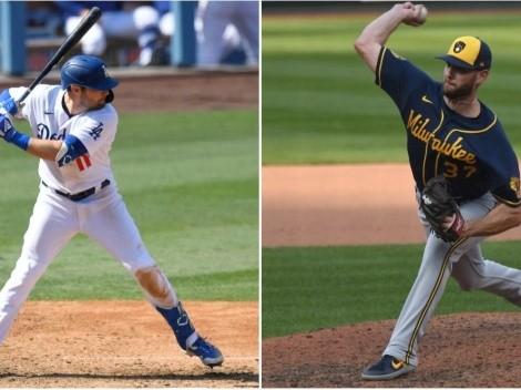 Que canal transmite Los Angeles Dodgers vs. Milwaukee Brewers por la ronda de comodines en MLB: Juego 1