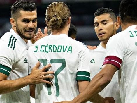 ¡Ganó el Tri! México goleó a Guatemala por un amistoso