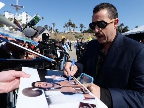 Adam Sandler reveló la bizarra estafa que sufrió por un autógrafo