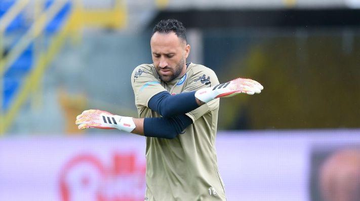 David Ospina, cerca de perderse el debut de Eliminatorias con Colombia.
