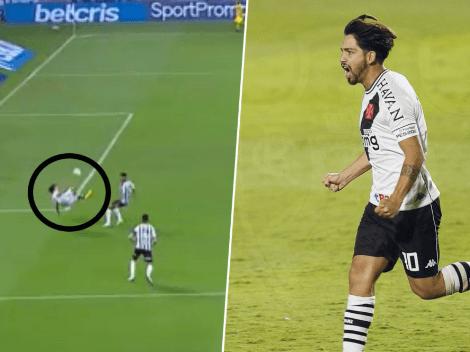 Cierren todo: Martín Benítez metió un golazo de chilena en Brasil
