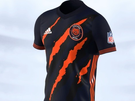 Da Bears never looked so fearsome in these soccer jerseys