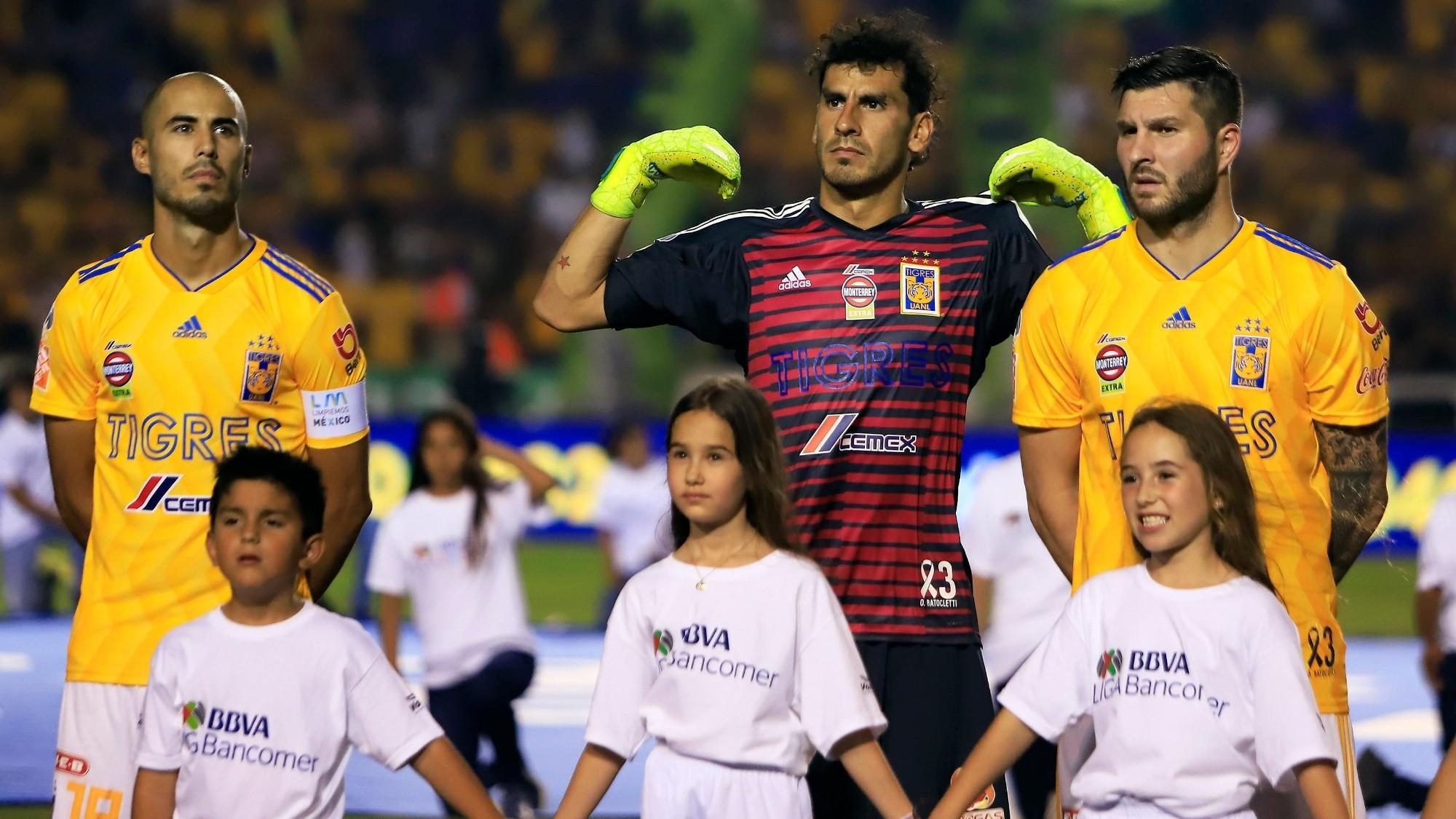 Tigres UANL: André-Pierre Gignac, Nahuel Guzmán y Guido Pizarro trabajan  doble | Bolavip