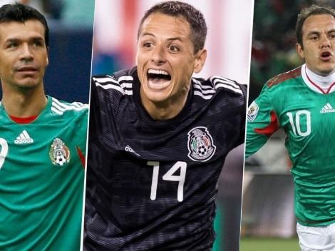 Raúl se acerca: la tabla de máximos goleadores del Tri