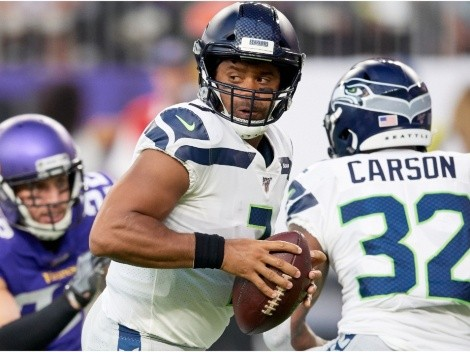 Russell Wilson and the Seahawks host the Vikings for Sunday Night Footballl
