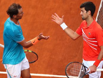 Rafael Nadal vs. Novak Djokovic por la final de Roland Garros (Foto: Getty Images)