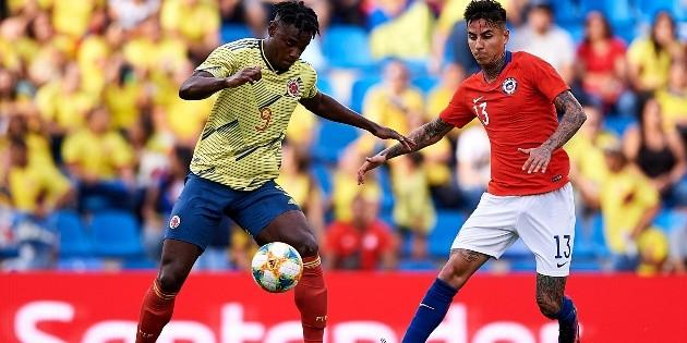 Colombia vs. Chile fecha, hora y canal de TV por las Eliminatorias rumbo a Qatar 2022   Bolavip