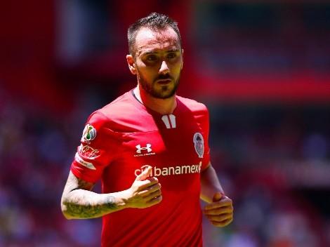 Mancuello deja Toluca para jugar en Vélez Sarsfield