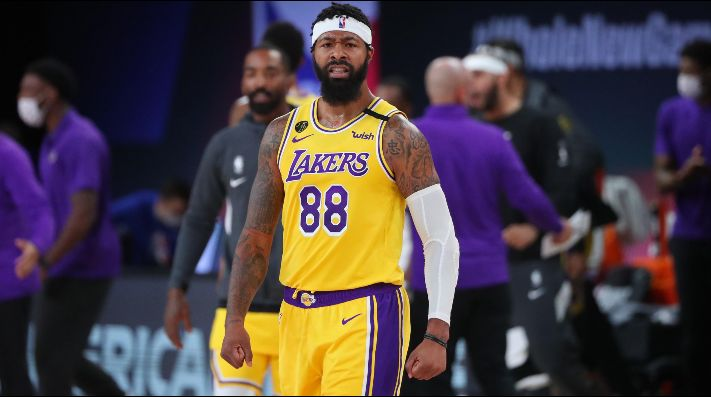 Markieff Morris, Los Angeles Lakers, Finales NBA