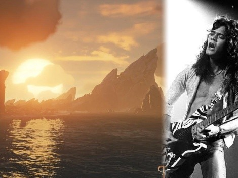Eddie Van Halen recibe un homenaje en el videojuego Sea of Thieves