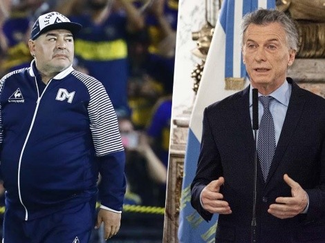 """Macri dijo que lo sacó de Boca y Maradona lo destruyó: """"No me echaste de ningún lado"""""""