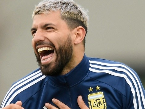 Hilarious: Kun Agüero reacts to Messi's fight after Argentina's win over Bolivia